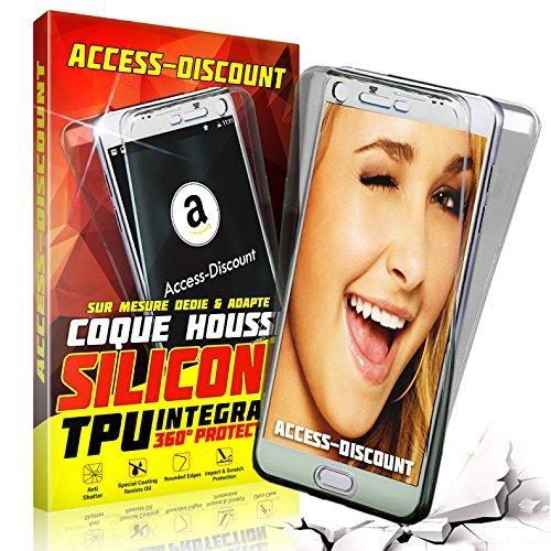 Coque Brand A&D - Protection Intégrale Avant + Arrière Apple iPhone 6 Plus/6S Plus - Transparent
