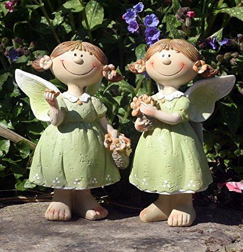 FHFY Garden Gabby y Gloria Jardín hadas, jardín/interiores, adorno de gnomo, hada de jardín, troll, imp