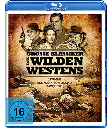 Große Klassiker des Wilden Westens - Lawman, Der Mann vom Alamo, Barquero [Blu-ray]