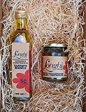 Weißes Trüffelöl und Trüffelsalsa Geschenkset