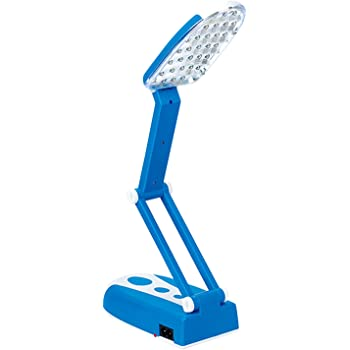 Obit 2.5-Watt Rechargeable LED Folding Lamp (Blue)