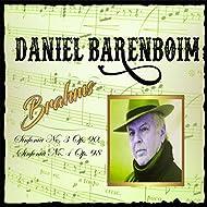 Daniel Barenboim, Brahms, Sinfonía No. 3 Op. 90, Sinfonía No. 4 Op. 98