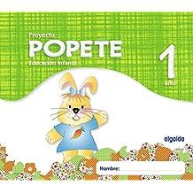 Proyecto Educación Infantil. Popete 1 año Algaida. Primer Ciclo - 9788498777352