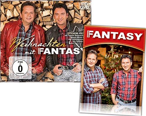 Preisvergleich Produktbild Weihnachten mit Fantasy CD + DVD (Geschenk-Edition mit 2 Bonustitel + GRATIS Fanaufkleber)