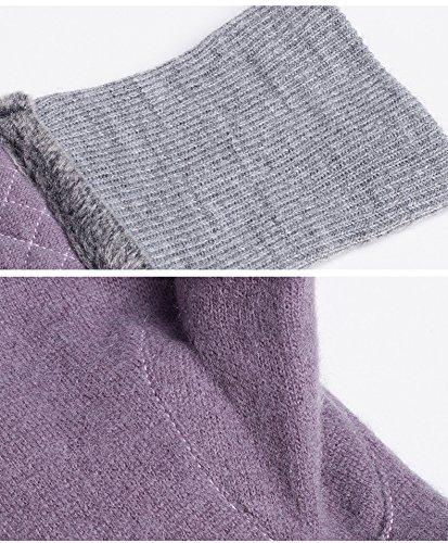 COMME LA VIE - Gant - Femme taille unique Violet