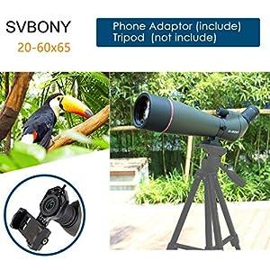 Svbony SV13 Spotting Scope Zoom Monocular Telescope Waterproof