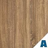 Artesive WD-057 Dunkles Eiche 60 cm x 2,5mt. - Haftklebefolie Selbstklebend Vinyl-Holz-Effekt Innen für Haus Dekoration, Türen und renovieren