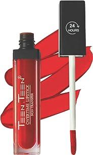 Teen Teen 24 Hour Non Transfer Overtime Liquid Lipstick, Red, 7 ml