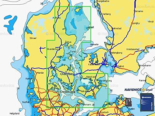 Navionics + Small 5G583S2 Voersaa - Fehmarn mSD Format Navionics Karten Angeln