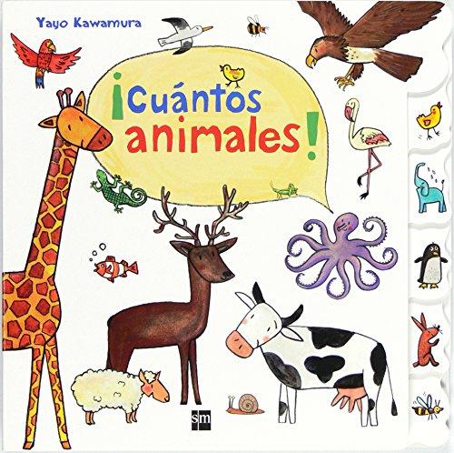 ¡Cuántos animales! (Libros de cartón) por Yayo Kawamura
