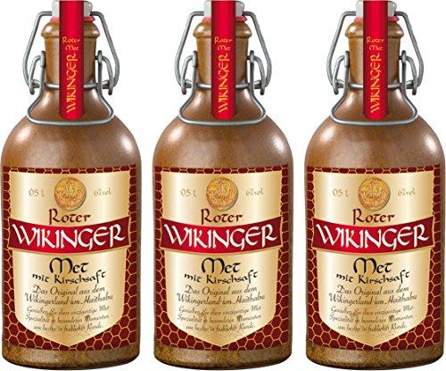 Roter Wikinger Met Behn im Tonkrug (3 x 0.5 l)