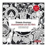 Herlitz 50007493 Dream Journey - Malbuch für Erwachsene 72 Seiten, 23 x 23 cm