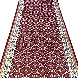 ZENGAI Tappeto Corridoio Passatoia Molto Lungo Corridore Sala Gomma Sostenuta Mats Soggiorno Tappeti, Lunghezza Personalizzata (Colore : A, Dimensioni : 1.2x2m)