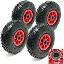 4x ruedas completas carretilla 3.00-4 neumáticas HT2046