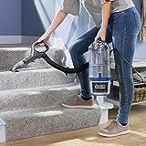 Shark NV601UK Lift-Away Upright Vacuum Cleaner, Blue/Steel Grey