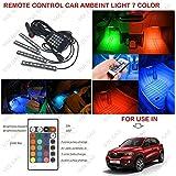 Volga Remote Control Ambient Lighting Atmosphere Car Interior Led Light For Renault Kwid