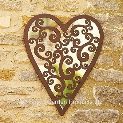 Smart Garden Heart of Hearts Mirror - cheap UK light store.