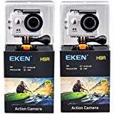H9 White, Russian Federation, Standard: EKEN H9 H9R Ultra FHD 4K 25FPS Wifi Action Camera 30M Waterproof 1080p 60fps Underwater Go Remote Extreme Pro Sport Cam