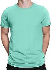 PrintOctopus Plain T-Shirt Men & Women (15+ Colours Available)   Basic T-Shirt   Half Sleeve T-Shirt   Round Neck T Shirt   100% Cotton T-Shirt