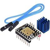 Kingprint TMC2208 V3.0 Stepper demper met koellichaam driver, reservedemper voor A4988 DRV8825 voor 3D-printers (STEP/DIY)