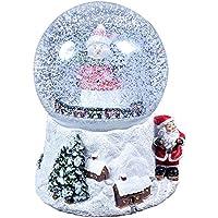 The Christmas Workshop El taller de Navidad 15cm bola de nieve de Navidad Musical–Juego