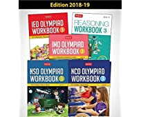 Class 3: Work Book and Reasoning Book Combo for NSO-IMO-IEO-NCO (2018-2019)