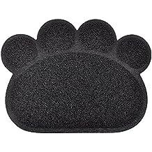 Paw-shaped bac à litière pour chat Tapis, 8couleurs disponibles, 40x 29,8cm