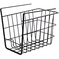 Sous tablettes de rangement Panier en fil métallique paniers suspendus sous étagères Support rangement pour la cuisine…