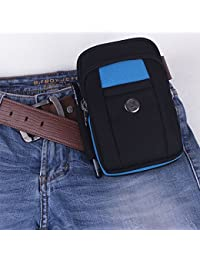 Buyworld 6 Inch Mobile Phone Waist Pack Testificate Bag Coin Purse Strap Casual Mobile Phone Bag Waist Bag Belt...