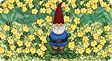 Toland Home Garden Garden Gnome anti-fatigue comfort Mat, 20 by 96,5 cm giallo/verde/rosso/blu
