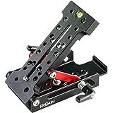 PROAIM CNC Made Multi-Angle Camera Levelling Plate | Adjustable Camera Plate for Tripod Slider DSLR Video Gear Head (P-MWP)