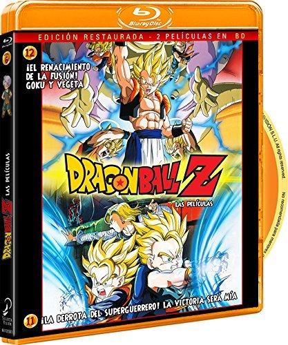 Pack Dragon Ball Z: ¡La Derrota Del Super Guerrero! La Victoria Será Mía + ¡El Renacimiento De La Fusión! Goku Y Vegeta [Blu-ray]