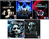 Final Destination Complete All Movies Film Pentology Blu Ray Collection Part 1, 2, 3, 4 + 5 + Extras
