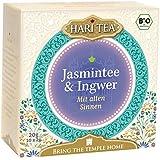 Hari Tea mit allen Sinnen / Vom Augenblick berührt (Grüner Jasmintee und Ingwer), 2er Pack (2 x 20 g) - Bio