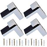 Koel Verstelbare Houten Glazen Plank Beugel Massief Zink Legering Plank Ondersteuning Klem Muur Gemonteerd Glas Houthouder vo