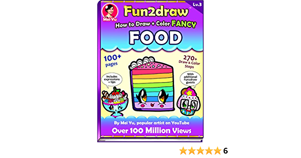 How To Draw Color Fancy Food Fun2draw Lv 3 English Edition Ebook Yu Mei Amazon De Kindle Shop