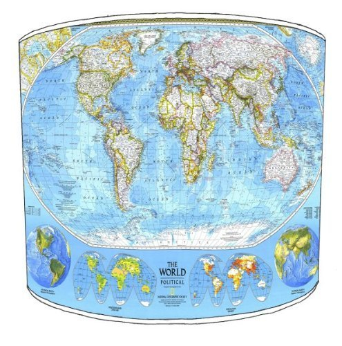 premier-lampshades-12-inch-ceiling-national-geographic-world-map-drum-lampshades