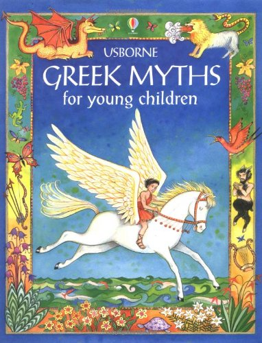 Greek Myths for Young Children Cover Image
