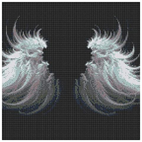 Angel Wings 14 Count Cross Stitch Kit