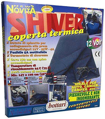 Top Shop Shiver Heizdecke für Auto, LKW, Wohnmobile