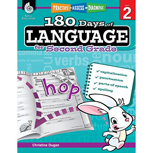 180 Days of Language for Second Grade: Practice, Assess, Diagnose (180 Days of Practice)