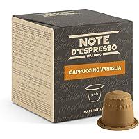 Note D'Espresso, Cappuccino e Vaniglia, Capsule Compatibili Soltanto con sistema NESPRESSO*, 40 caps
