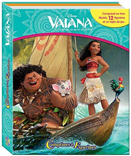 Phidal–Vaiana Coffret Libro con 12Figuras + Alfombra de Juego, 9782764341803