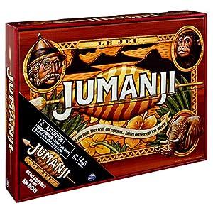Cardinal Games 6054665 Jumanji – Juego de Mesa de Madera Retro (versión Francesa)