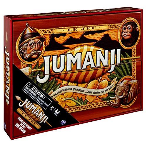 Cardinal Games - 6054665 - Jeu de Plateau bois Jumanji -...