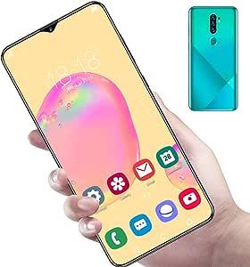 Dpofirs Smartphone con sblocco a Schermo Intero da 6,7 Pollici, Doppia Scheda da 8 + 256 GB, Doppio Standby con sblocco dell'impronta Digitale da 13 + 24 MP, Batteria da 4800 mAh(Me)