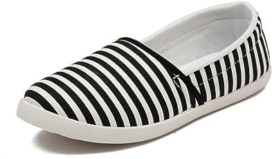 Asian shoes LR-93 Black Canvas Ladies Shoes