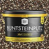 Buntsteinputz beige/schwarz/braun 20kg