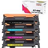 AQINK 4-Pack Compatible 404S CLT K404S P404C CLT-K404S CLT-C404S CLT-M404S CLT-Y404S Toner Cartridge for Samsung SL-C430 Tone
