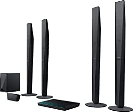 Sony BDV-E6100 5.1 Blu-ray Heimkinosystem (1000 Watt, 3D, WLAN, Bluetooth, Smart TV, NFC) schwarz